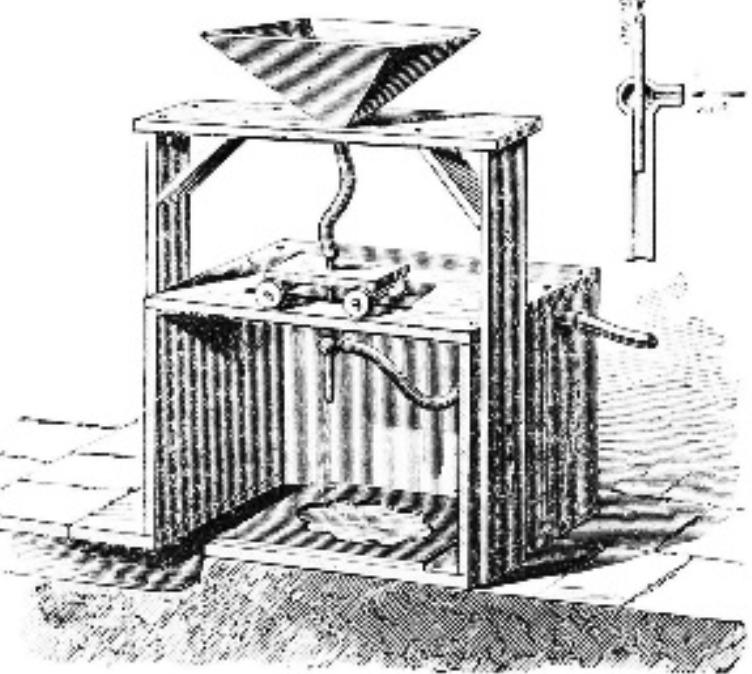 Tilghman Sandblasting Machine